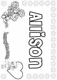 Coloring Pages Your Name That Say File