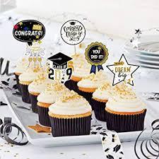 Graduation Cupcakes Topper Congrats Class Of 2019 You Did It