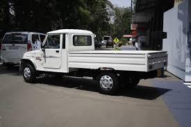 Mahindra Bolero Maxi Truck Plus White Rear Quarter Left