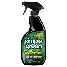 Custom Building Products Tilelab 1 2 Gal Gloss Sealer And Finish by Simple Green 32 Oz Stone Polish 3710001218402 The Home Depot