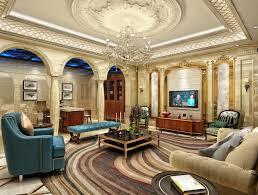 100 European Home Interior Design Style Luxury Living Room Ceiling Decoration