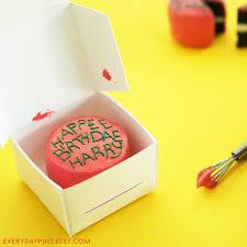 Miniature Harry Potters Birthday Cake Ornament Magnet Keyring