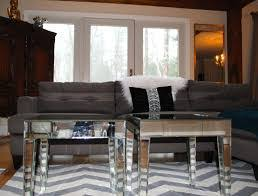 kitchen table and chairs target mirrored furniture with chevron