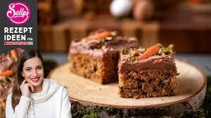sallys saftiger schokolade karottenkuchen