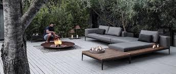 canapé de jardin design best salon de jardin design metal contemporary amazing house