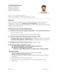 Resume Career Objective Sample Welder Directory Cad Operator Resumes Compliant Imagine Besides