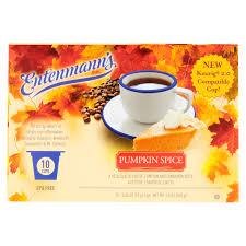 Green Mountain Pumpkin Spice K Cups by Entenmann U0027s Coffee Pumpkin Spice Cups 10 Ct Walmart Com