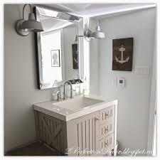 Coastal Bathroom Wall Decor by 2perfection Decor Basement Coastal Bathroom Reveal