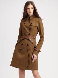 brown trench coat women