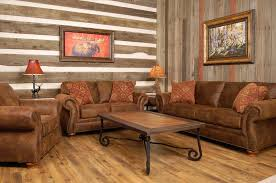 And Living Rustic Furniture Couch Room Design With Brown Leather Sofa Arms Amazoncom American Classics