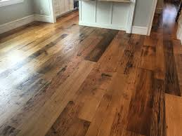Bona Cork Floor Sealer by Locally Milled Wide Plank Reclaimed Chestnut Flooring Finished