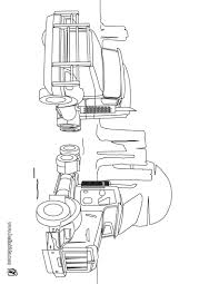 Van Trucks Coloring Page