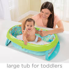Inflatable Bathtub For Babies by Summer Infant Easystore Comfort Tub Walmart Com