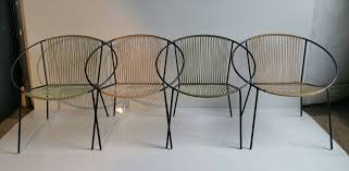 Salterini Iron Patio Furniture by Classic Mid Century Modern Outdoor