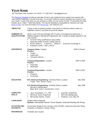 Resume Template - Table Format Blank Resume Pdf Fill Online Printable Fillable Formats Of Examples And Sample For Cv Format Templates At Allbusinsmplatescom Real Video Game That Worked How To Design A Showstopping Resume Microsoft 365 Blog Write Cover Letter Career Center Usc Scholarship 20 Guide With Resume Name Chief Financial Officer Archaeologist Other Names For Cashier On Summary What Isat Good Name To Creating Labatory Professionals By Leslee 20 Google Docs Download Now