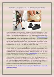 PPT - Sephora Coupon Code – A Better Way To Shop PowerPoint ... Shoemall Canada Wiper Blades Discount Code Morphe Coupon Coupon 25 Off Frances Valentine Coupons Promo Codes Ppt Bookmyshow Discount Coupons From Talkcharge Werpoint Peltz Shoes Newsletter The Luxor Pyramid Dsw Coupon Codes Promo Sorel Womens Winter Carnival Boots Chinese Laundry Recent Discounts Dickies 30 Off October 2018 20 First Purchase Glossier Hsn Maryland Square Shoes New York Deals Restaurant