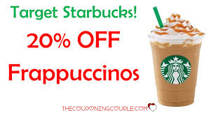 HOT DEAL! 20% Off Starbucks Frappuccino Beverages @ Target ... Tim Hortons Coupon Code Aventura Clothing Coupons Free Starbucks Coffee At The Barnes Noble Cafe Living Gift Card 2019 Free 50 Coupon Code Voucher Working In Easy 10 For Software Review Tested Works Codes 2018 Bulldog Kia Heres Off Your Fave Food Drinks From Grab Sg Stuarts Ldon Discount Pc Plus Points Promo Airasia Promo Extra 20 Off Hit E Cigs Racing Planet Fake Coupons Black Customers Are Circulating How To Get Discounts Starbucks Best Whosale