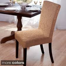 Curved Back Dining Room Chair Slipcovers Suitable Add Custom