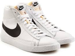Nike Blazer Mid Retro Leather High Top Sneakers