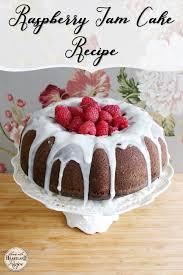 A Berry Delicious Recipe for Raspberry Jam Cake