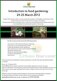 Urban Harvest Edible Gardens