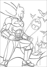 The Batman City State Monitor Coloring For Kids