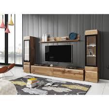 moderne baukastenmöbel für das wohnzimmer eiche wotan
