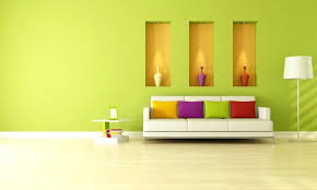 enchanting green interior paint living room wall brighter with