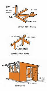 12x12 Shed Plans With Loft by 12 12 Lean To Storage Shed Plans U2013 Constructing A Lean To Shed