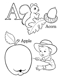 Abc Coloring Sheets Preschool