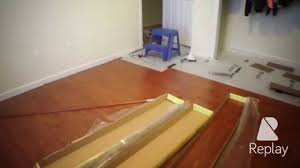 Home Depot Install Flooring by Home Depot Trafficmaster Brazilian Cherry Laminate Flooring Time