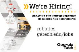 Robotics at Georgia Tech Is Hiring