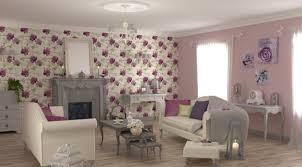tapisserie salon salle a manger idees papier peint salon