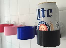 European Bath Mat Without Suction Cups by Shower Beer Beverage Holder Pick You Color 3d Printed By