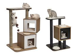 modern cat tower sneak peek new vesper modern cat furniture from hagen coming soon