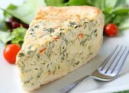 quiche sans pâte fromage et asperges recettes salees