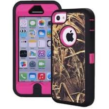 Custom Otterbox Defender Series Case for iPhone 4S AP Camo Teal