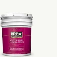 Glidden Porch And Floor Paint Sds by Behr Premium Plus 5 Gal Acrylic Interior Exterior Multi Surface
