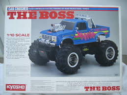 "Vintage Kyosho ""The Boss"" 1/10th Scale RC Monster Truck Car Crusher ..."