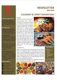 newsletter cuisine newsletter segara hotel sanur bali indonesia