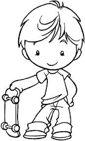 Coloring Pages Boy Picture Gallery For Website Boys