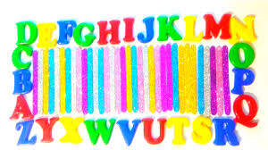 Find the Letter for Kids Game Alphabets ABC Plastic Letters