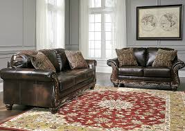 Living Room Vanceton Antique Sofa And LoveseatSignature Design By Ashley