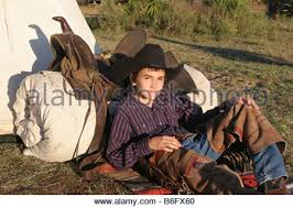 Cowboy Bed Roll by Western Saddle On Horse With Bedroll Saddle Bags Canteen And