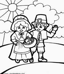 Coloring Pages Thanksgiving For Preschoolers Preschool In Kindergarten