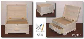 unfinished wooden jewelry boxes pdf woodworking
