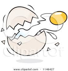 Pin Egg Clipart Cracked 12