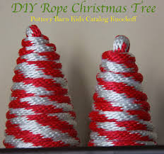 DIY Rope Christmas Tree - Pottery Barn Kids Catalog Knockoff - The ... Pottery Barn Kids Cyber Week 2017 Pottery Barn Christmas Tree Ornaments Rainforest Islands Ferry Beautiful Decoration Santa Christmas Tree Topper 20 Trageous Items In The Holiday Catalog Storage Bins Wicker Basket Boxes Strawberry Swing And Other Things Diy Inspired Decor Interesting Red And Green Stockings Uae Dubai Mall Homewares Baby Fniture Bedding Gifts Registry Tonys Top 10 Tips How To Decorate A Home Picture Frame