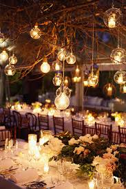 Wedding Lighting Ideas Outdoors Elegant Outside Lights Simple Outdoor Reception