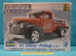 100 Plastic Truck Model Kits 125 Revell 1941 Chevy Pickup 2 N 1 Kit857202
